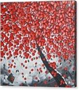 Red Cherry Tree Acrylic Print