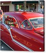 Red Chevrolet Acrylic Print