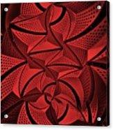 Red City 3 Acrylic Print