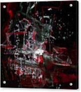 Red City Acrylic Print