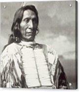 Red Cloud Chief Acrylic Print