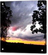 Red Cloud, Pittsburgh, Pa  Acrylic Print