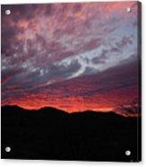 Red Cloud Sunset Acrylic Print