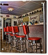 Red Cottage Restaurant Acrylic Print
