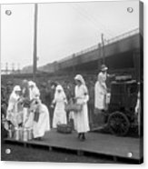 Red Cross: Canteen, C1918 Acrylic Print