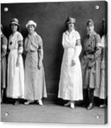 Red Cross Corps, C1920 Acrylic Print