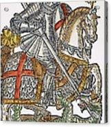 Red Cross Knight, 1598 Acrylic Print