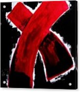 Red Cross Ll Acrylic Print