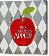 Red Delicious Apples Acrylic Print