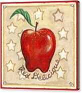 Red Delicious Two Acrylic Print
