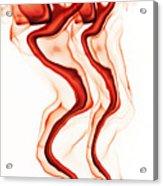 Red Demon Acrylic Print
