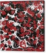 Red Devil U - Original Acrylic Print