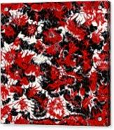 Red Devil U - V1vhkf100 Acrylic Print