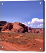 Red Dirt Road Acrylic Print