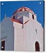 Red Domed Church Acrylic Print