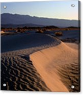 Red Dunes Acrylic Print