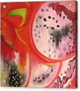 Red Ecstasy 1 Acrylic Print