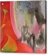 Red Ecstasy 2 Acrylic Print