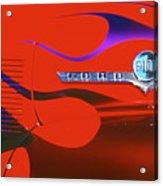Red F-100 Acrylic Print