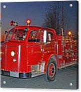 Red Firetruck Acrylic Print