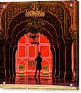 Red Gaurd Acrylic Print