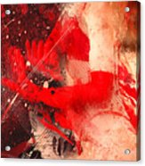 Red Gloves Acrylic Print by Svetlana Sewell