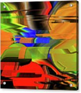 Red Green Yellow Blue Acrylic Print