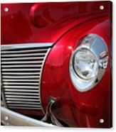 Red Grill Acrylic Print