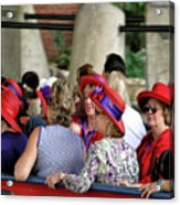 Red Hat Day Acrylic Print