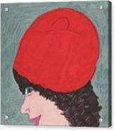 Red Hat Acrylic Print