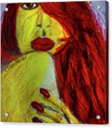 Red Headed Step Child Acrylic Print