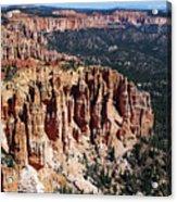 Red Hoodoos Of Bryce Canyon National Park Acrylic Print