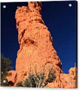 Red Hoodoos Of Red Canyon State Park Acrylic Print