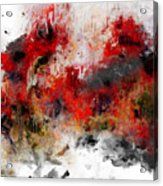 Red Hope  Acrylic Print