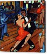 Red Hot Tango Acrylic Print