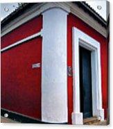 Red House Acrylic Print