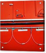 Red Hull Acrylic Print