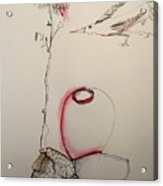 Red Jar Acrylic Print