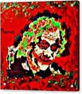 Red Joker Acrylic Print