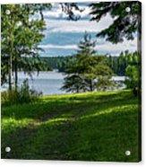 Red Lake Ontario 2 Acrylic Print