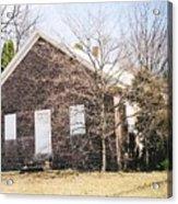 Red Land Quaker House Acrylic Print