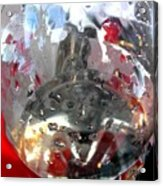 Red Lantern And Soda Water 7 Acrylic Print