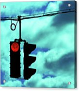 Red Light Acrylic Print
