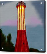 Red Lighthouse Acrylic Print