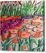 Red Lillies 2 Acrylic Print