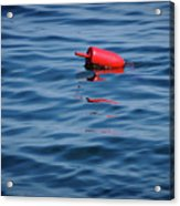 Red Lobster Buoy Acrylic Print