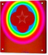 Red Logo Acrylic Print