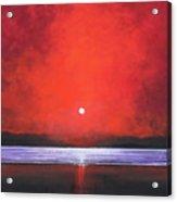 Red Night Acrylic Print