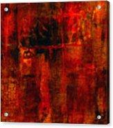 Red Odyssey Acrylic Print