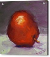 Red Pear Print Acrylic Print